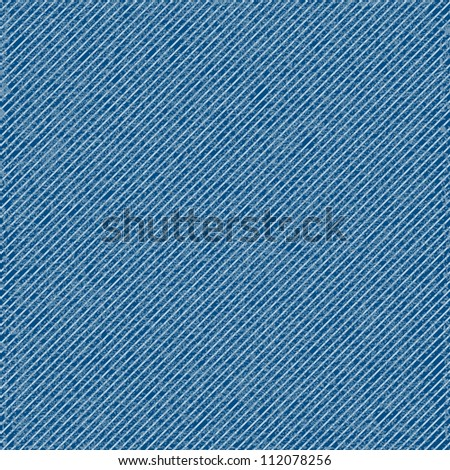 Vector seamless denim texture - stock vector