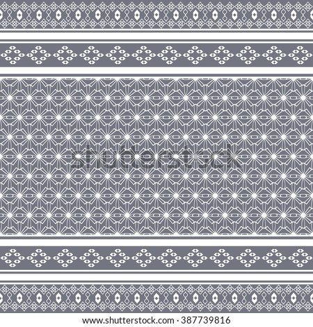 Vector seamless ethnic pattern. Pattern in gaucho style. Geometric pattern for design textiles, wallpaper, stationery, greeting cards and more.