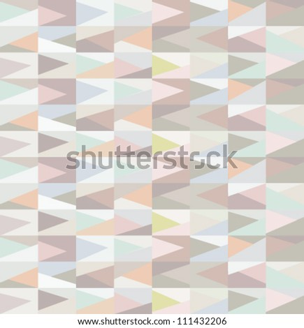 Vector seamless geometric pattern. Colorful background - stock vector
