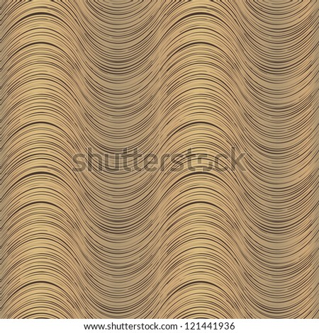 Vector seamless geometric pattern with stylish shapes - stock vector