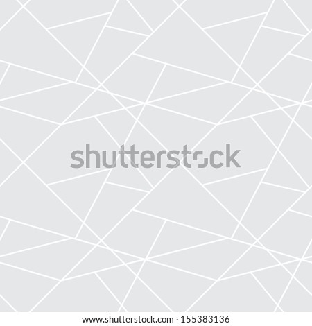 Vector seamless geometric simple pattern - gray abstract cells background for design - stock vector