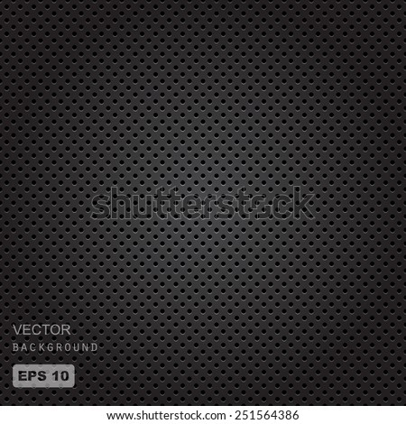 vector seamless illustration of speaker grill texture - stock vector