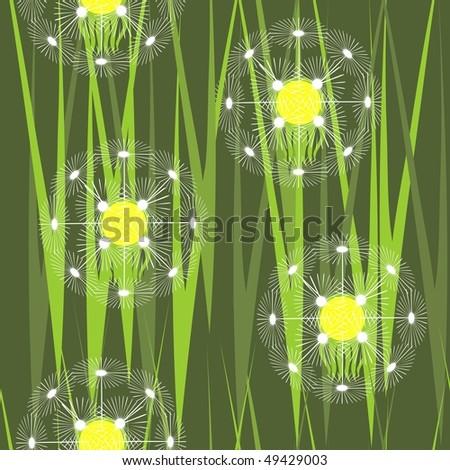 Vector. Seamless ornament  in color 237. More seamless see in portfolio  - stock vector