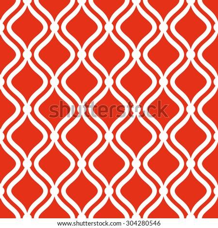 vector seamless ornamental pattern - stock vector