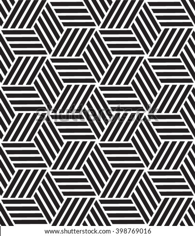 Vector seamless pattern. Abstract geometric background