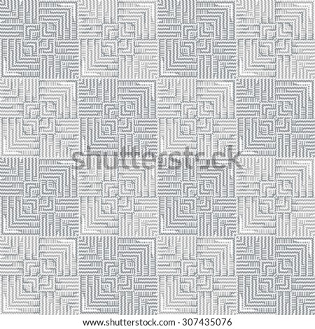 Vector seamless pattern, abstract geometric background. cloth vector pattern, goose foot