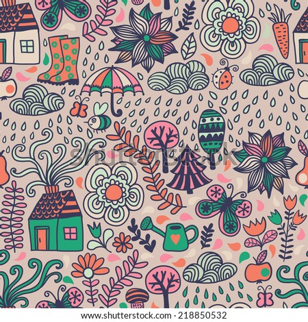 how to draw klimt tree of life pattern easily