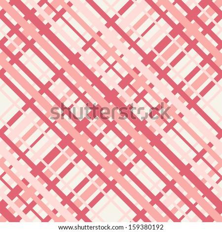 Vector seamless pattern. Checkered texture. Pastel stylish texture of tartan - stock vector