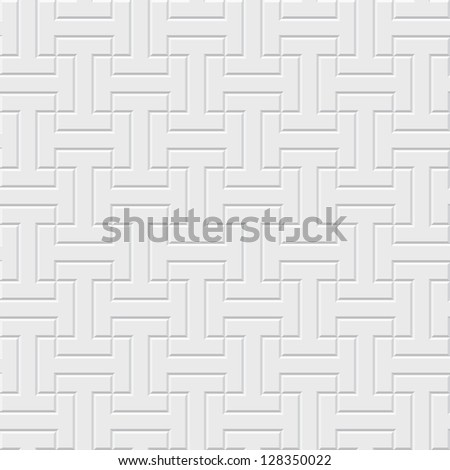Vector seamless pattern - ethnic indonesian texture eps8 - stock vector