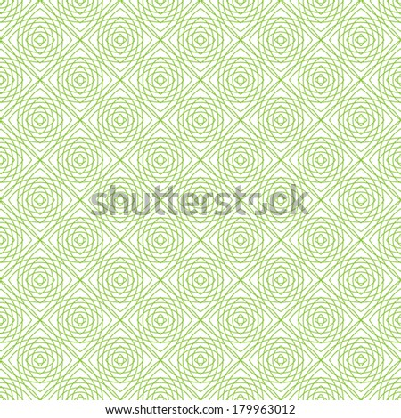 Vector seamless pattern, for money design, currency, note, cheque, ticket, vector guilloche texture for registration of securities, certificate, or diploma - stock vector