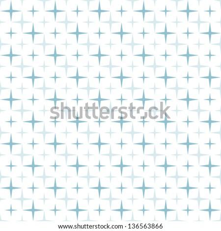 Vector seamless pattern. Modern stylish texture. Delicate geometric tiles - stock vector