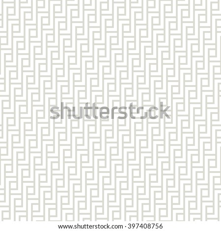 Vector seamless pattern. Modern stylish texture. Geometric ornament with interlaced stripes. - stock vector