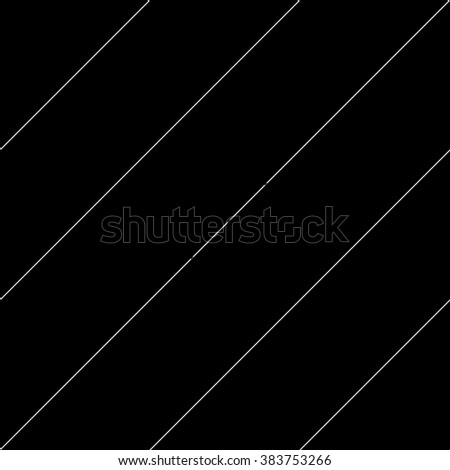 Vector seamless pattern. Modern stylish texture. Repeating geometric tiles with diagonal lines - stock vector