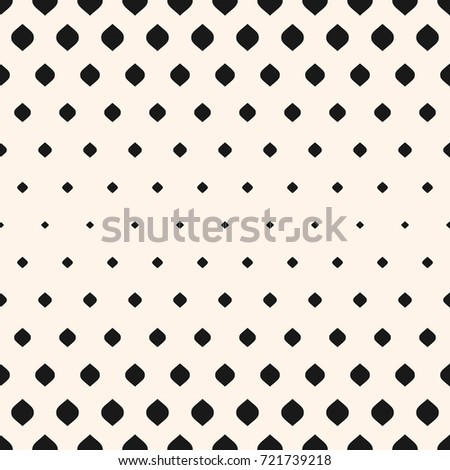 vector seamless pattern monochrome background halftone stock vector rh shutterstock com halftone vector download halftone vector texture