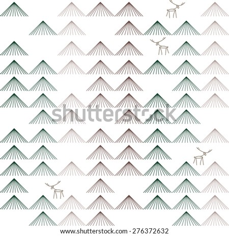 Vector seamless pattern. Repeating abstract background. chevron - stock vector