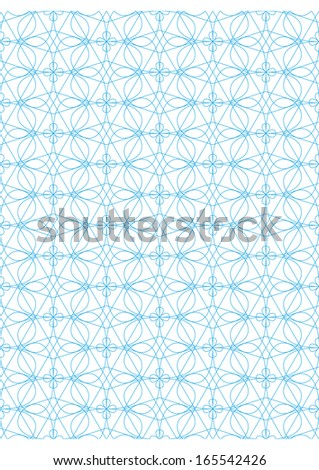 Vector seamless pattern Repeating geometric lines on white background