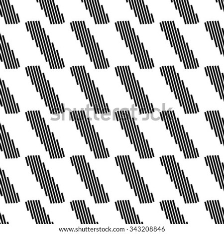 Vector seamless pattern. Repeating geometric tiles with rhombuses - stock vector