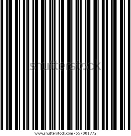 Vector seamless pattern. Striped abstract background. Minimalistic monochrome texture.Black and white