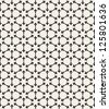 Vector seamless pattern. Stylish classical texture. Repeating geometric tiles - stock photo