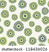 Vector seamless pattern. Stylish texture with circles - stock vector