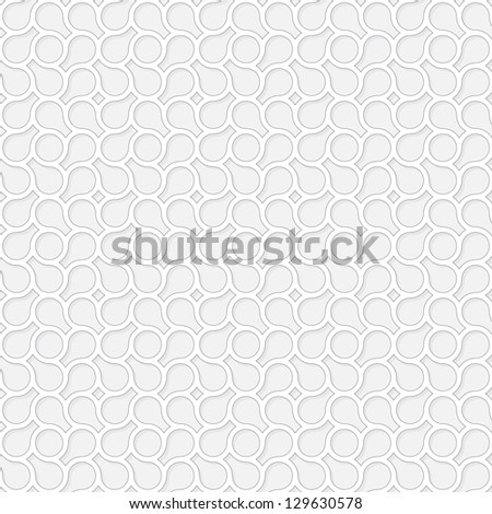 Vector seamless pattern - the abstract monochrome background