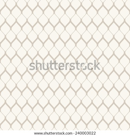 Vector seamless pattern with irregular grid. Modern stylish texture. Repeating monochrome background. Contrast ornament in pastel light colors