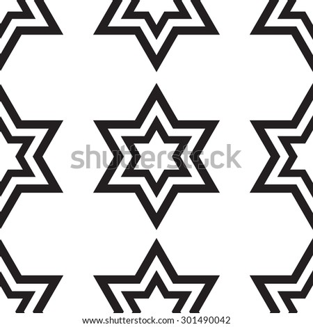Vector seamless patterns. Endless texture can be used for wallpaper, pattern fills, web page background,surface textures. - stock vector