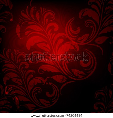 vector seamless spring floral pattern,  eps10, gradient mesh, clipping mask - stock vector