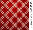 Vector seamless tartan texture - stock vector