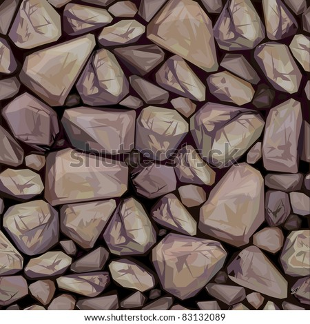 Dachziegel textur seamless  Vector Seamless Texture Stones Covered Moss Stock-vektorgrafik ...