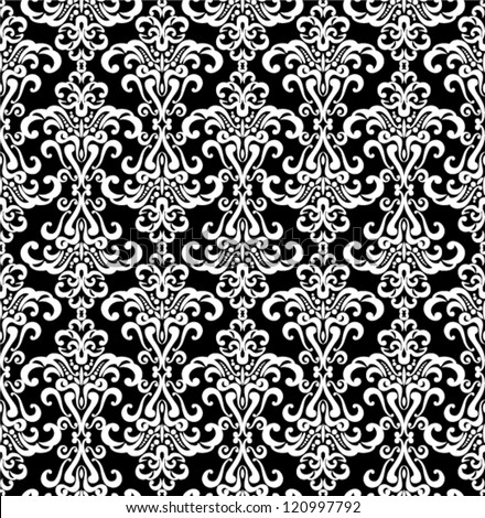 Vector seamless - vintage pattern