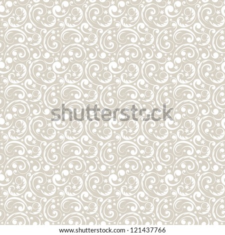 vector seamless vintage pattern - stock vector