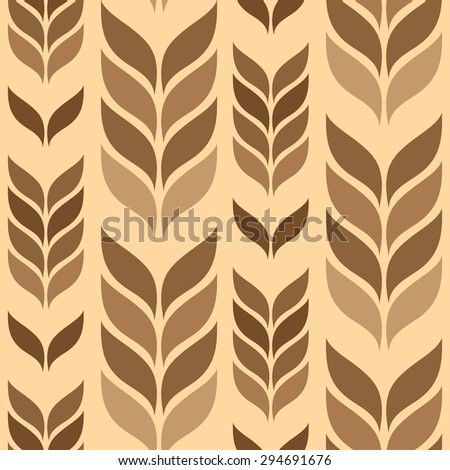 vector seamless wallpaper with elements in the form of spica - stock vector