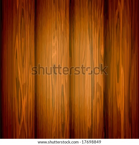 Vector Seamless Wood, See Jpeg Also In My Portfolio - stock vector