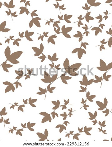 Vector Seamples Pattern Floral - stock vector