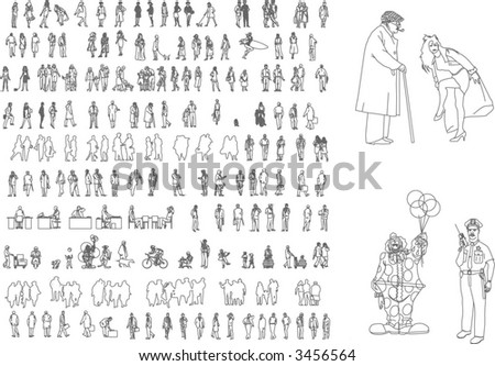 vector set - stock vector