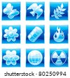 Vector set environment icons (part 2) - stock vector