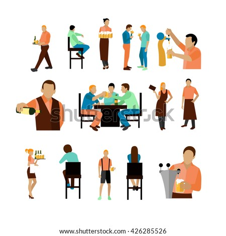 Restaurant Background With People people in restaurant stock photos, royalty-free images & vectors