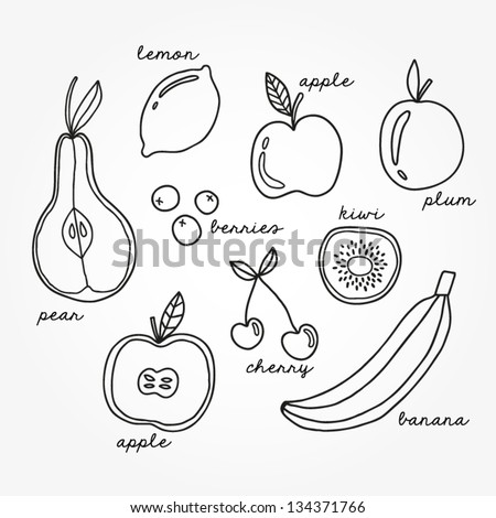 Pears Coloring Page Printable Pdf Coloring Pages