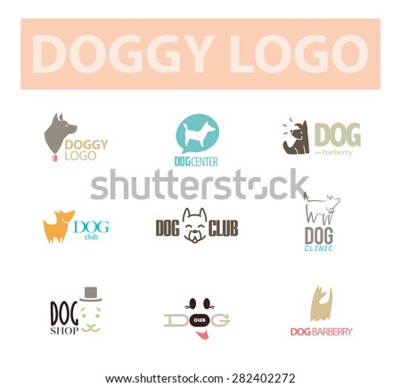 Dog Logo Stock Photos Royalty Free Images Vectors