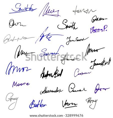 autograph stock images royaltyfree images amp vectors