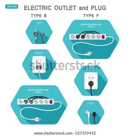 Outlet plug stock images royalty free images vectors for Outlet b b