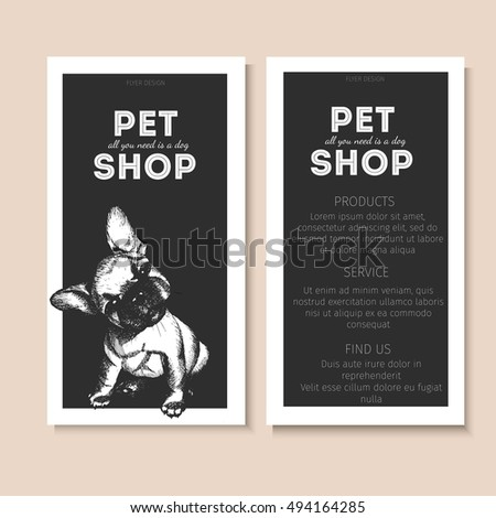 puppy for sale flyer templates
