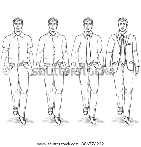 stock images similar to id 107013725 fashion sketch of