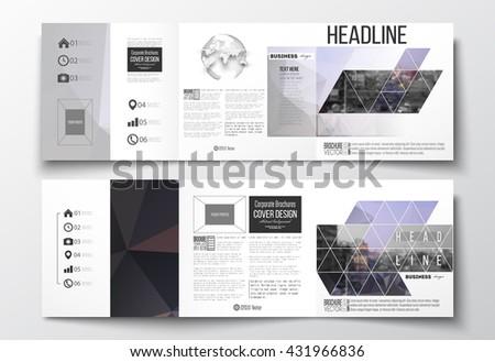 tri fold book report template
