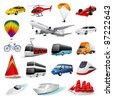 Vector set: transport - stock vector