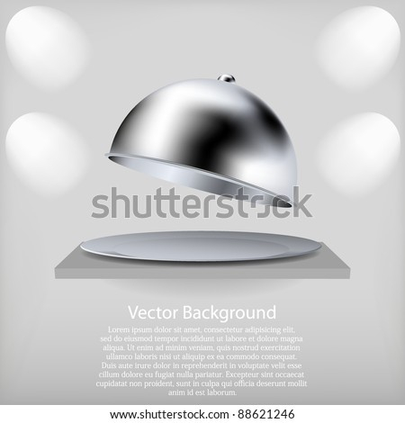 vector shelf with a open tray. Best choice - stock vector