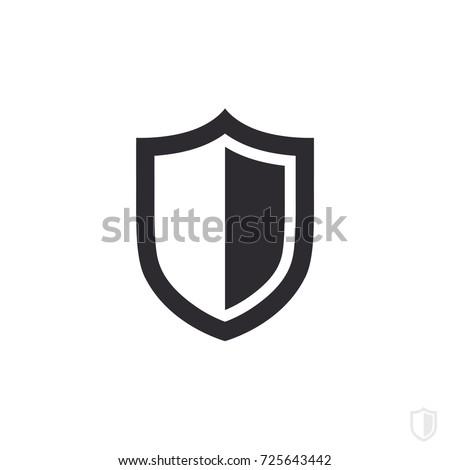 vector shield icon security vector icon stock vector 725643442 rh shutterstock com shield vector png shield vector psd free download