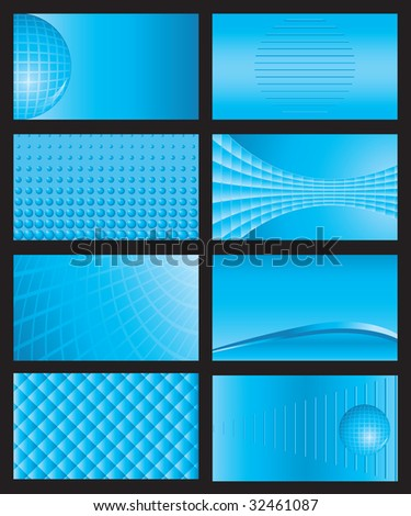 vector shiny business card backgrounds