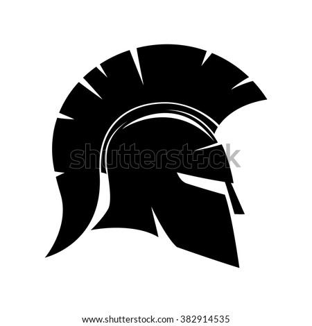 vector sign spartan helmet stock vector 382914535 shutterstock rh shutterstock com spartan helmet logo vector spartan helmet logo clip art
